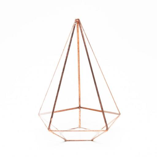 Supersize Empty Copper Jewel Terrarium