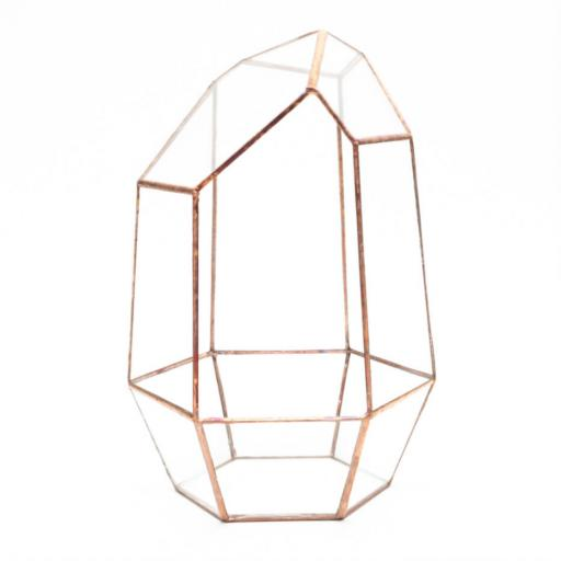 Supersize Empty Copper Gem Terrarium