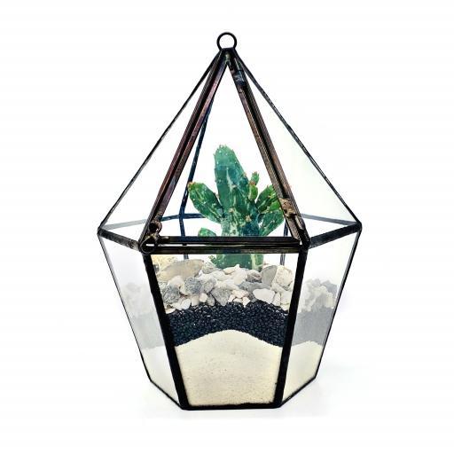 DIY Mini Cactus Lantern